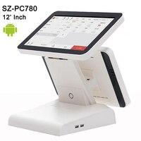Бесплатная программы для компьютера SDK 12 двойной экран сенсорный экран pos системы Android планшеты PC кассовый аппарат машины Поддержка Wi Fi,