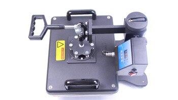 Бесплатная доставка многофункциональная термосублимационная переводная машина 6в1 для печати на кружках и шляпах печатная машина для круж...