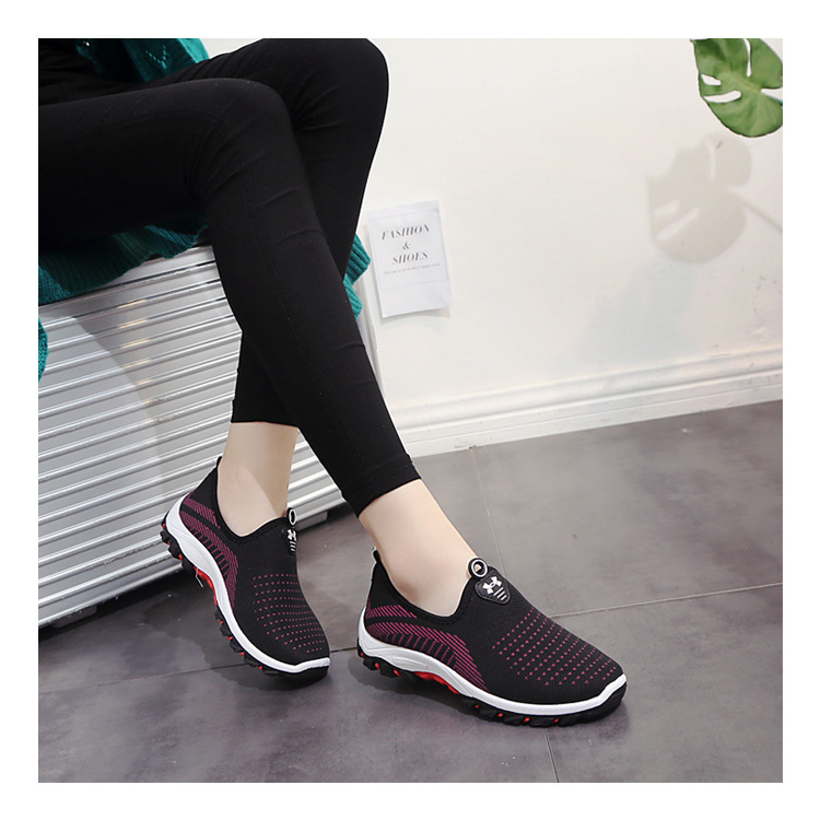 NEW Spring Autumn Women Ladies Feminine Fashion Casual Mesh Air Shallow Low Comfort Zapatillas Slip-On Loafers Shoes Plimsolls foot sequins slip on plimsolls