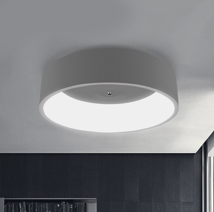 White/Grey Round Modern Led Ceiling Lights For Study Kids Room Bedroom AC85-265V Home Dec Modern Led Ceiling Lamp декор ceradim modern dec 1 25x45