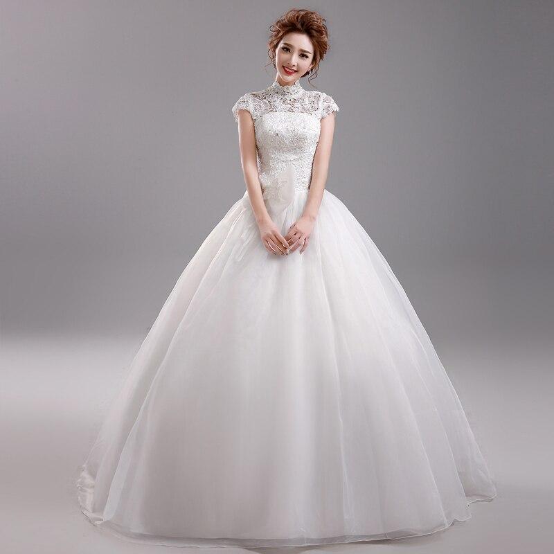 Chinese Collar Wedding Dresses