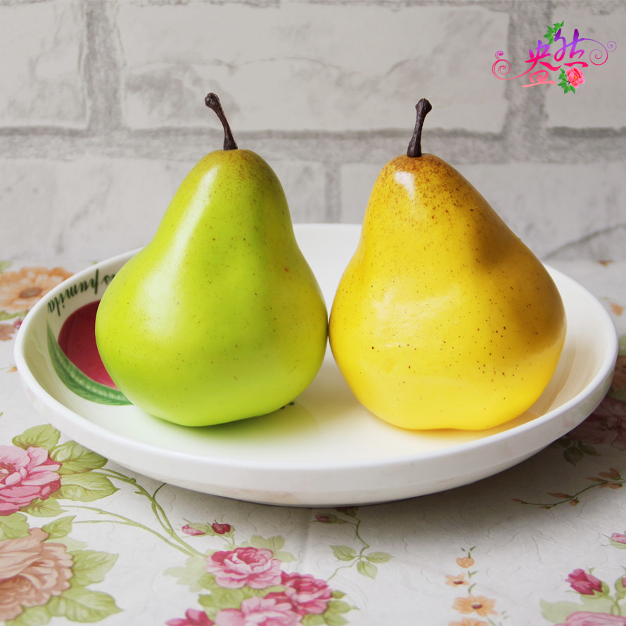 1PCS 95cm Pear Artificial Fruits Simulation Fruits for Home and ...