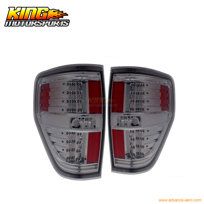For 09-10 Ford F-150 F 150 LED Tail Lights Smoke 2009 2010 USA Domestic Free Shipping free shipping 9 inch lcd screen 100% new for tablet pc display yh090if40h a yh090if40h b yh090if40h