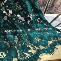 1piece/lot Openwork embroidered bold cord eyelash lace dress fabric elegant blue Lace Trim Tissu Ruban Newest Dentelle Felt