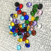 10MM 10pcs Dimeter Crystal Diamond Rainbow Glass Beads Feng Shui Sphere Crystals Decorative Craft Gift Wedding Home Vase Decor 5