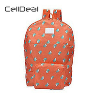CellDeal Brand New Outdoor Sports Backpack Popular Candy Color Shoulder Bag Kids Lovely Schoolbag Women Canvas