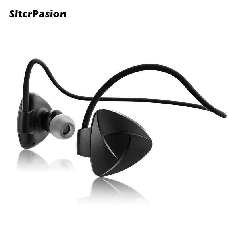 SltcrPasion Hot Fone Microfone sem Fio Professional Sport Bluetooth Earphone with Mic Wireless Earphone NFC Sweatproof Handsfree professional wireless microphone system wr 208 dual mic with receiver mike for karaoke microfone sem fio microfono inalambrico
