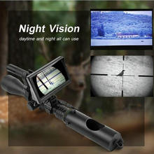 Digital Infrared Night Vision Scope set/ With HD Camera Charger and IR Flashlight Optical Sights LCD screen Hunting Trail Scopes