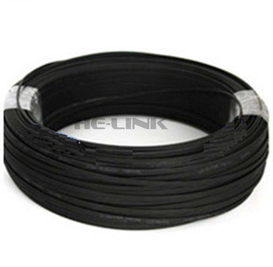 LODFIBER 100 м SC-SC открытый бронированный одиночный режим 12 нитей волоконно-оптический кабель патч-корд 9/125