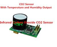 Wide Range Ultra low Power Consumption Infrared Carbon Dioxide CO2 Sensor Temperature and Humidity Output IR CO2 Transducer