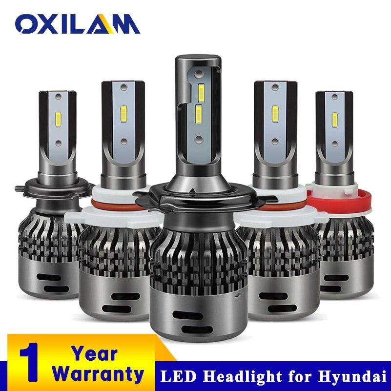 oxilam 9012 9005 hb3 h11 h7 h4 led headlight bulb for hyundai