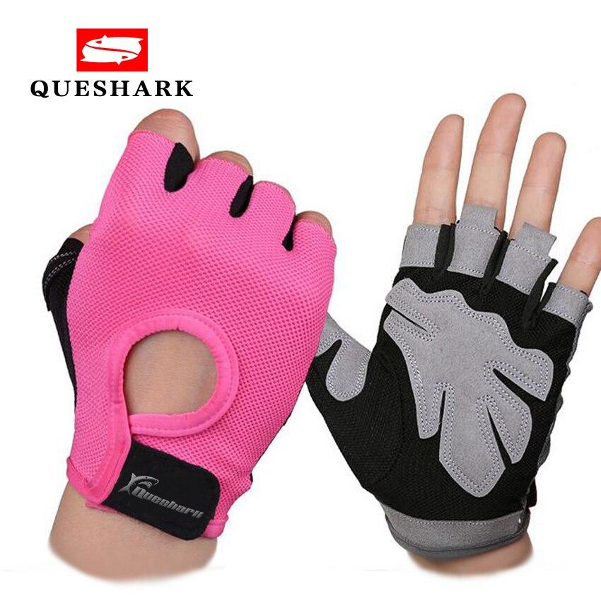 נגד החלקה חצי אצבע כושר כפפות ספורט מבנה גוף אימון יד כפפות גברים & נשים משקולת כושר תרגיל הרמת משקולות