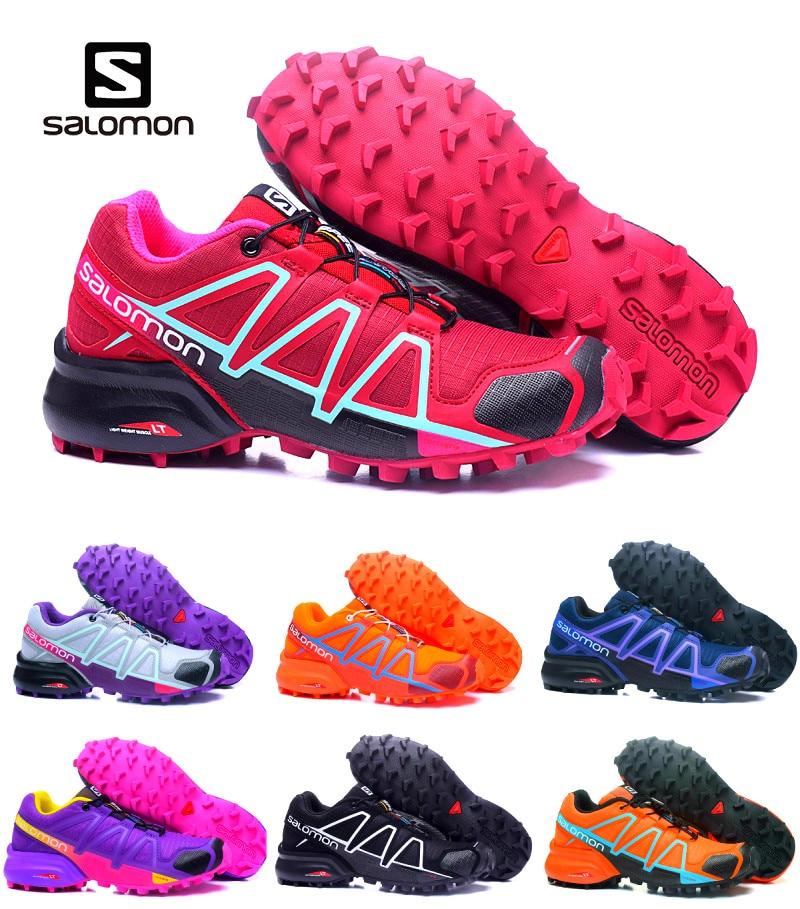 Salomon Speed Cross 4 CS Cross-Country 2019 course libre Jogging course en plein air amortissement baskets femmes chaussures de Sport athlétique 36-42