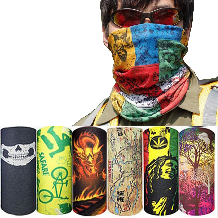 Sports Masks Magic Headband Outdoor Neck Warmer Cycling Bike Bicycle Riding Face Mask Head Scarf Scarves Bandana 100% new