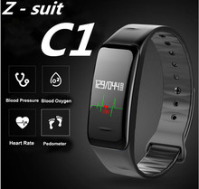 Z-suit Health Sport Oxygen Blood Pressure Heart Rate monitor Fitness Tracker Smart Band for IOS Android