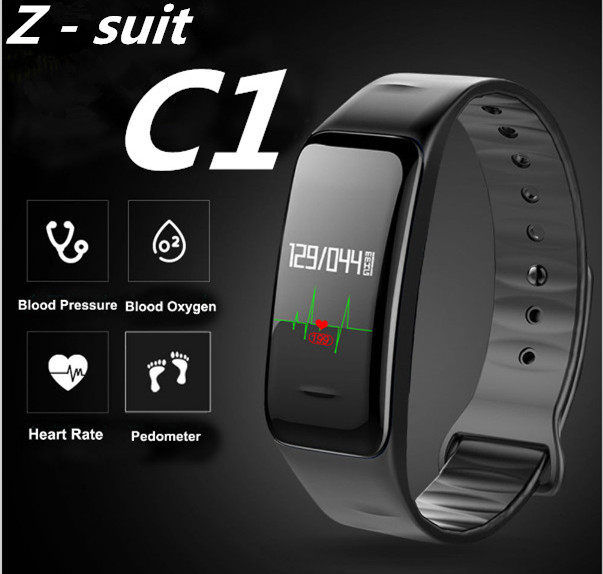 Z-suit Health Sport Wristband Oxygen Blood <font><b>Pressure</b></font> Heart Rate monitor Smart Bracelet Fitness Tracker Smart Band for IOS Android