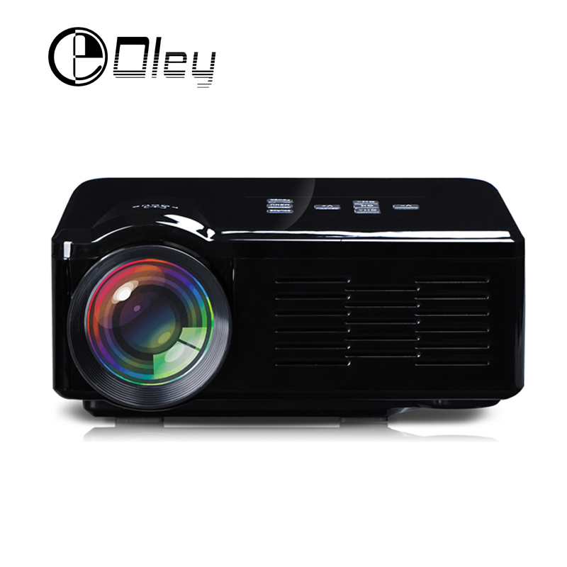 OLEY 1000Lumens BL-35 MINI Portable LED hd TV Projector Beamer For Video Games Home Theater Movie Support HDMI VGA AV SD USD