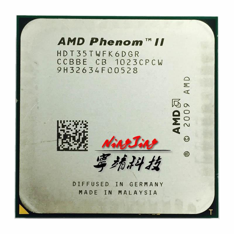 AMD Phenom II X6 1035T 1035 2 6G Six Core CPU processor HDT35TWFK6DGR Socket AM3