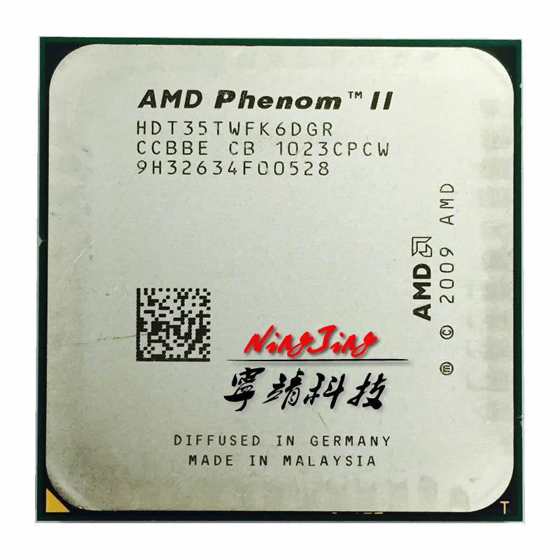 AMD Phenom II X6 1035 T 1035 2.6G HDT35TWFK6DGR a Sei Core processore CPU Socket AM3-in CPU da Computer e ufficio su  Gruppo 1