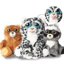 Новый Злющий домашних животных Изменение Лица Забавные выражения животных Куклы Мягкие плюшевые игрушки для малышей милые Мягкий хлопок Рождественский подарок Лидер продаж