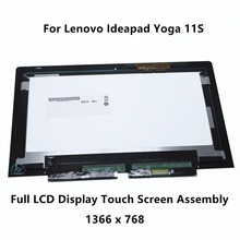 11.6″ Touch Glass Digitizer + LCD Display Panel Screen Assembly For Lenovo Ideapad Yoga 11S 20246 Tablet 18200774 B116XAT02.0
