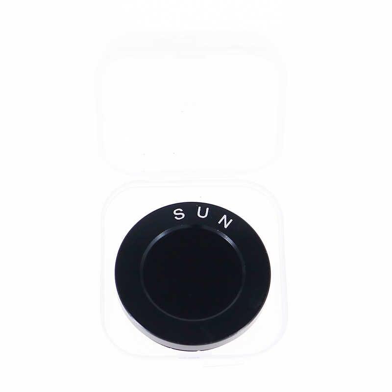 """천문 망원경 용 1.25 """"astro 검정색 필터 oculars 렌즈 행성 성운 필터 m28x0.6 미터 미세 나사"""
