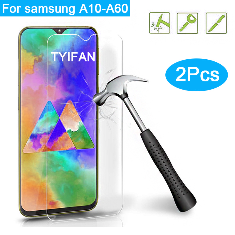 2pcs <font><b>Tempered</b></font> <font><b>Glass</b></font> for <font><b>samsung</b></font> galaxy <font><b>a10</b></font> a20 a30 a40 a50 a60 Protective <font><b>Glass</b></font> Screen Protector galaxi a 10 20 30 40 50 safety image