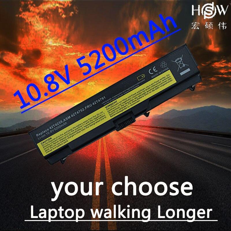 Batteria Del Computer Portatile Per Lenovo ThinkPad HSW E40 E50 L410 L412 L420 L421 L510 L512 L520 SL410 SL410k SL510 T410 T410i t420 T510 T520