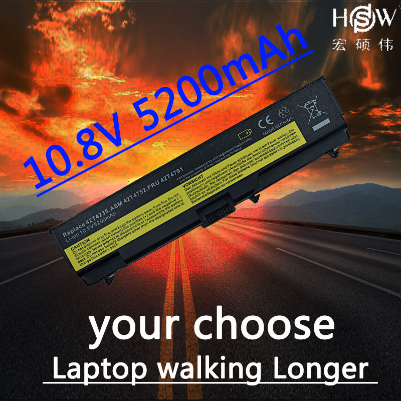 HSW Laptop Battery For Lenovo ThinkPad E40 E50 L410 L412 L420 L421 L510 L512 L520 SL410 SL410k SL510 T410 T410i T420 T510 T520 mini micro battery powered portable guitar amp classic marshall guitar portable and lightweight