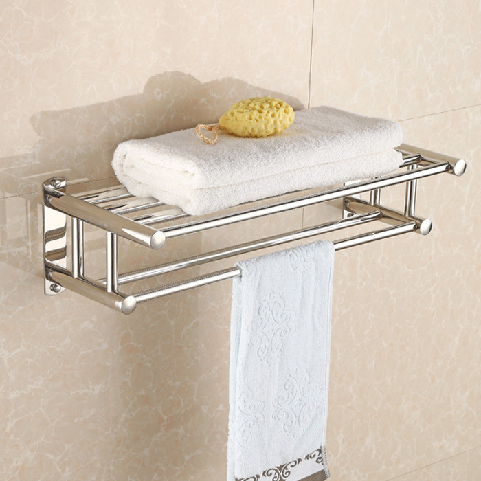 Clothes Rack Bathroom Towel Stainless Steel Racks Hotel Bar Frame Wall In From Home Improvement On Aliexpress