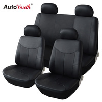 AUTOYOUTH PU Leather Car Seat Covers Auto Universal Seat Covers for Toyota Lada Kalina Granta Priora Renault Car Accessories