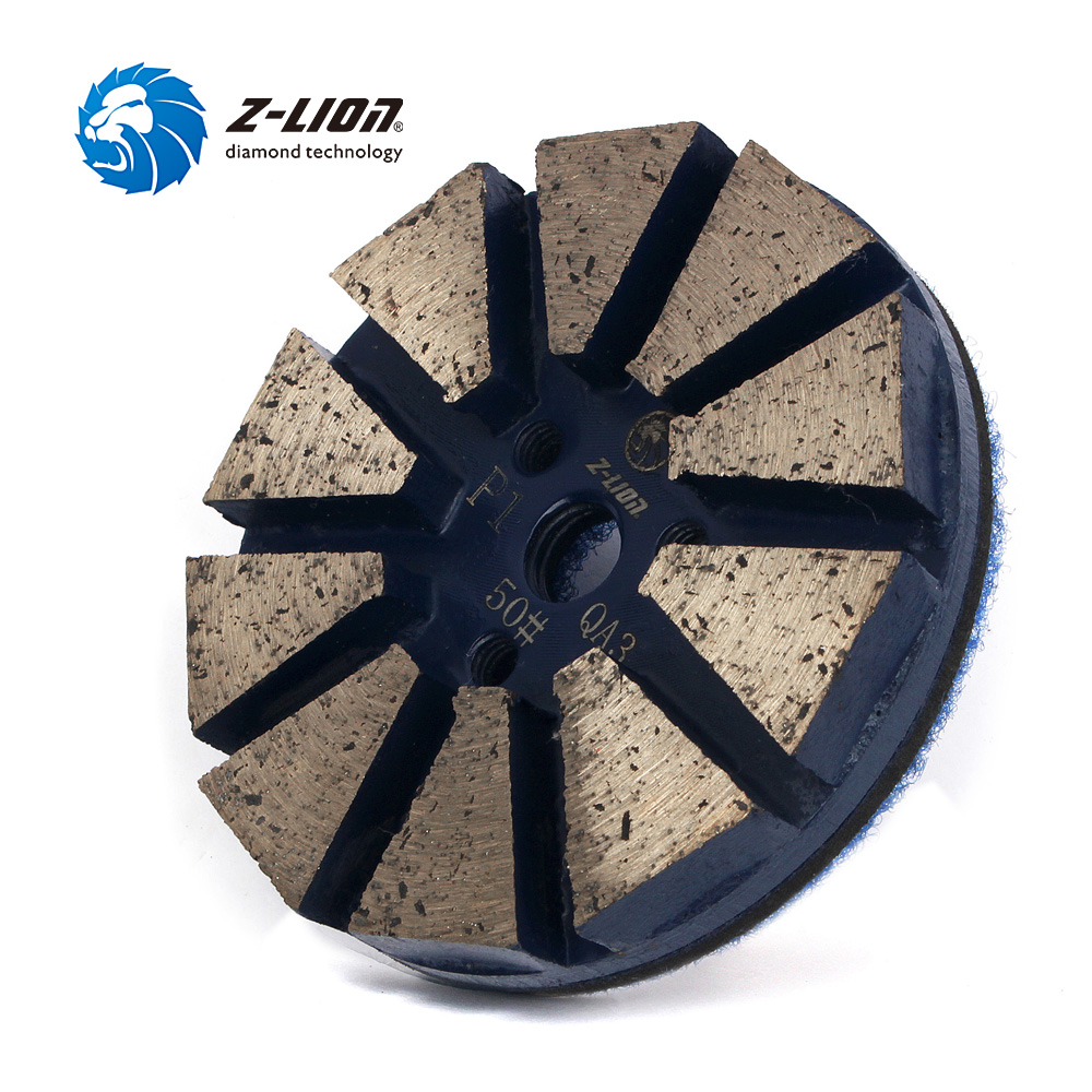 Z-LION 3 #50 Metal Bond Diamond Tool For Granite Stone Concrete Grinding Thickened Diamond Disc For Floor Grinding Polishing