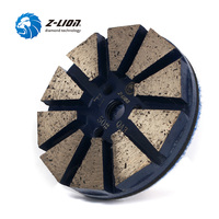 Z Lion 3inch Metal Diamond Polishing For Stone Concrete Wet Use Floor Surface Cement Grinding Wheel