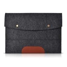 Felt Sleeve Deal with Laptop computer Sleeve Pouch Cowl Bag for iPad 2 Three four iPad Air mini Case, Darkish grey 13 inch