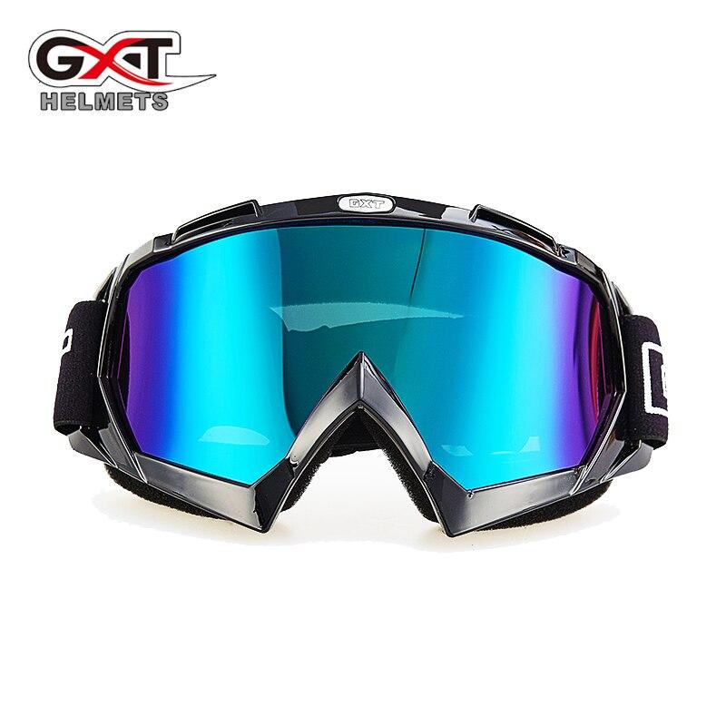 GXT Motocross Helmet Goggles ATV MTB Dirt Bike Goggle Motorcycle Enduro Off-Road Windproof Skiing Skating Glasses