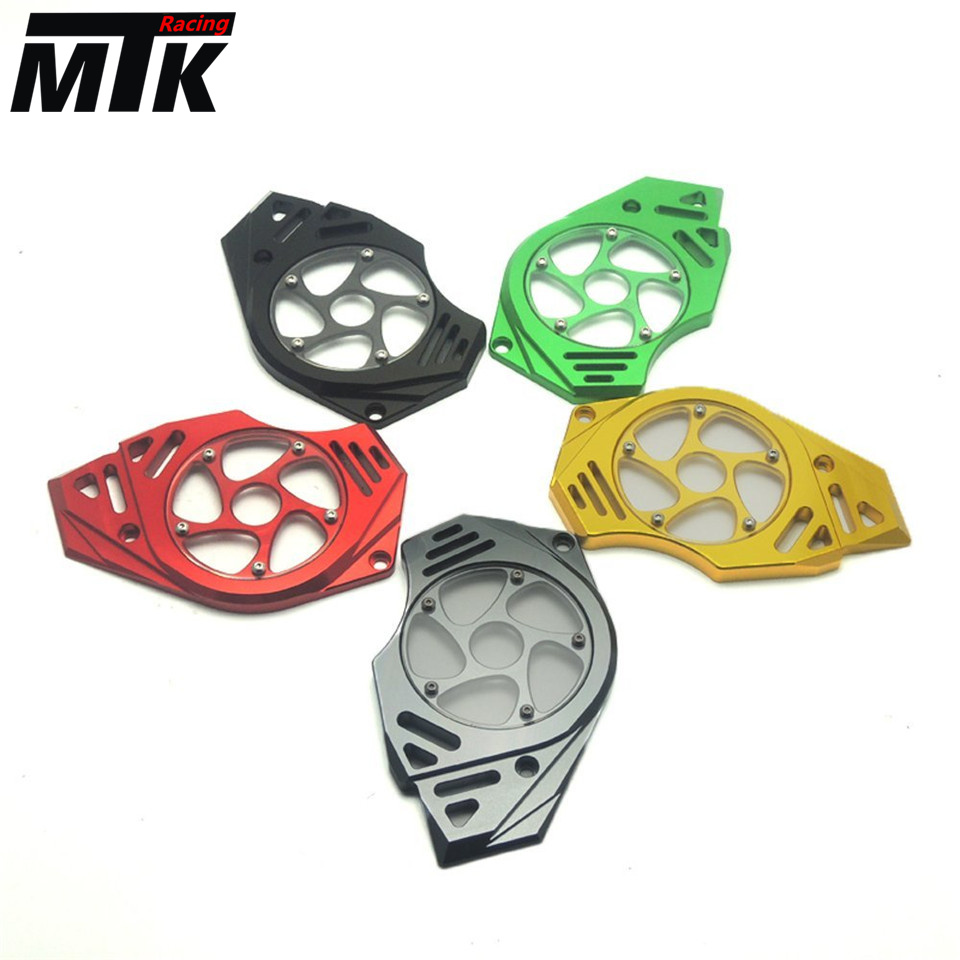MTKRACING Motorcycle Front Sprocket Chain Guard Cover Left Side Engine For KAWASAKI versys650 VERSYS650 1 set front and rear sprocket chain