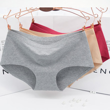 Non-trace process ms seamless pure  briefs panties underwear waist the