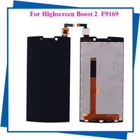 For Highscreen Boost 2 FPC 9108 9267 Or 9169 LCD Display Touch Screen Black Mobile Phone