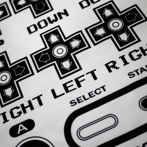 Konami contra Cheats nes console logo t shirt free shipping
