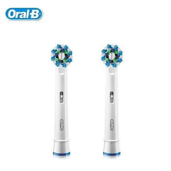 Oral B cepillo de dientes eléctrico cabeza Cruz acción EB50 importación alemán de Vicks cepillo de dientes cabeza Original Oral B reemplazable la cabeza