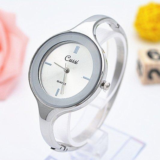 CUSSI Brand Luxury Golden Womens Quartz Wristwatches Women Bracelet Dress Watches Fashion Relogio Feminino Reloj Mujer Jelly in Women 39 s Watches from Watches