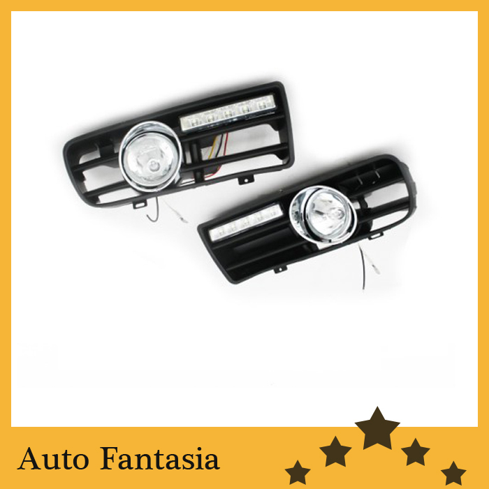 Front fog light kit with led day time running light -for Volkswagen golf mk4 simulation mini golf course display toy set with golf club ball flag