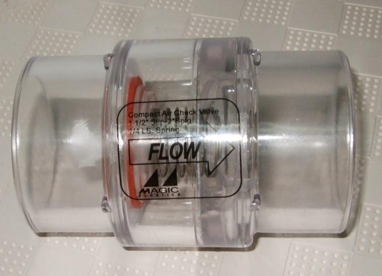 Spa Hot Tub Air Blower System one way valve 2 Spa blower Air Supply 1 4lb