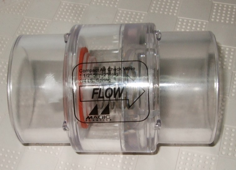 Spa Hot Tub Air Blower System,one Way Valve 2