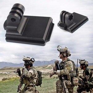 Image 5 - BGNing kask aluminiowy stały uchwyt na GOPRO Max 9 8 7 dla AKASO EK7000 dla Insta360 dla Osmo kamera akcji i płyta montażowa NVG