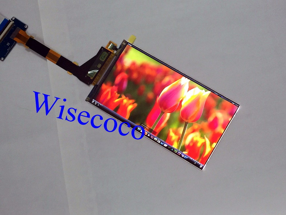 New 5.5 LS055R1SX04 2K 1440*2560 LCD screen display panel for VR product with driver board video projector DIY projector