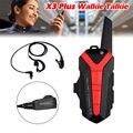 El envío gratuito! X3 Más Mini Walkie Talkie de $ Number Vías de Radio UHF 400-470 MHz 800 mAH Portátil de Intercomunicación