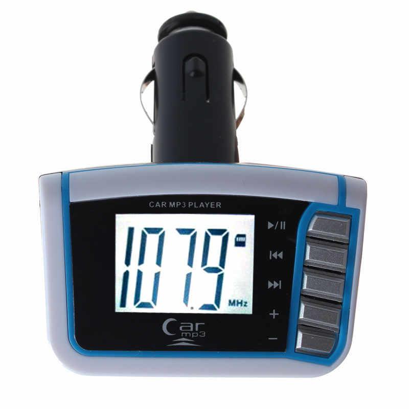 2018 sıcak satış moda LCD araba MP3 MP4 çalar kablosuz fm verici modülatör SD/MMC kart w/uzaktan çok iyi