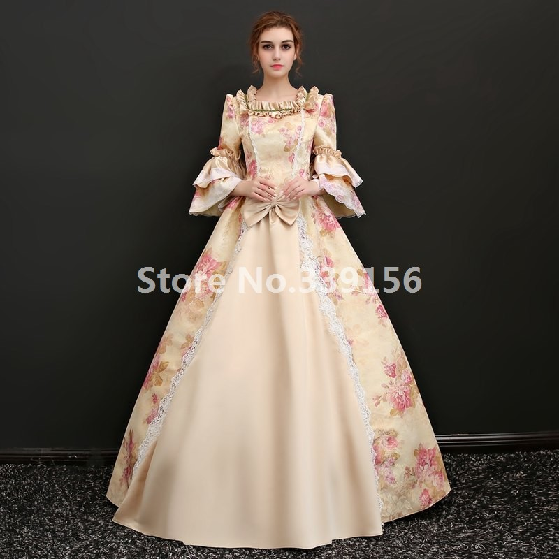 d74efc3ae5e7 Best Seller Champagne Rococo Baroque Marie Antoinette Party Dress 18th  Century Renaissance Historical Period Ball Gown For Women