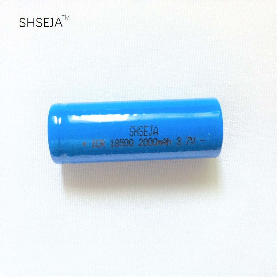 1Pcs/lot <font><b>18500</b></font> <font><b>Battery</b></font> <font><b>3.7V</b></font> 2000mAh Rechargeable <font><b>Battery</b></font> image